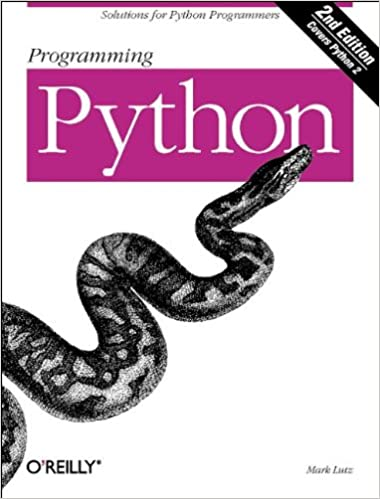 Programming Python, Second Edition by Mark Lutz