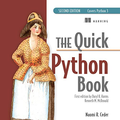 The Quick Python Book, Second Edition by Naomi R. Ceder, Mark Thomas