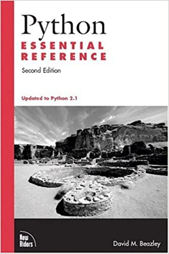 Python Essential Reference (2nd Edition) by David Beazley