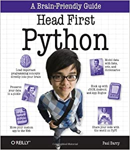 Head First Python: A Brain-Friendly Guide by Paul Barry