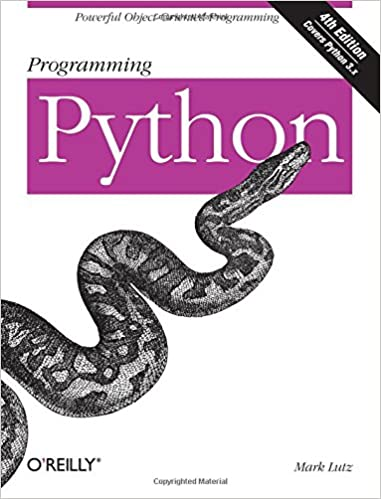 Programming Python: Powerful Object-Oriented Programming by Mark Lutz